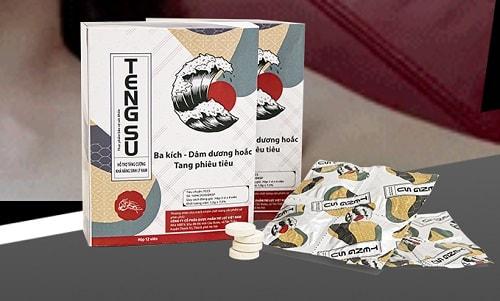 6. Tengsu - thuốc chữa yếu sinh lý tốt nhất dạng kẹo ngậm