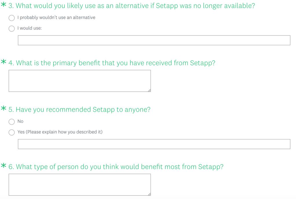 SetApp Questions 2