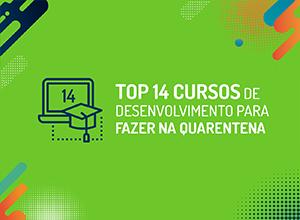 Top 14 cursos de desenvolvimento para fazer na quarentena