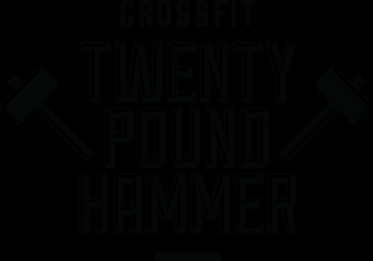 CrossFit Twenty Pound Hammer Logo