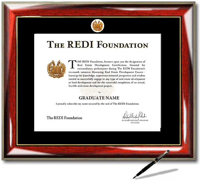 REDI Foundation Certificate