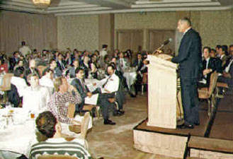 Photo of John D. Lusk at REDI's Seminar