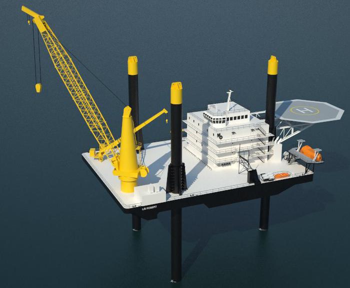 MiNO Marine 335 foot leg Liftboat Robert render (delivered 2012)