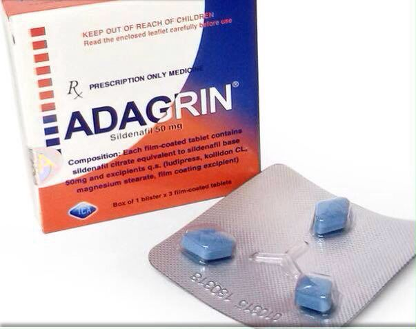 8. Thuốc cường dương Adagrin của Việt Nam
