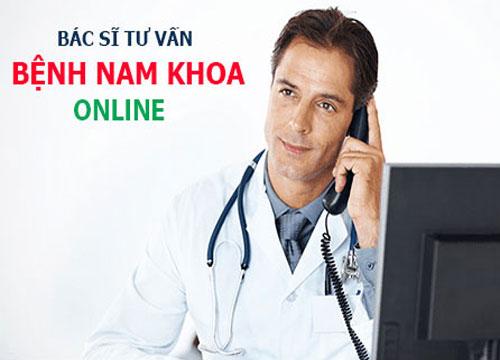 tư vấn bệnh nam khoa online