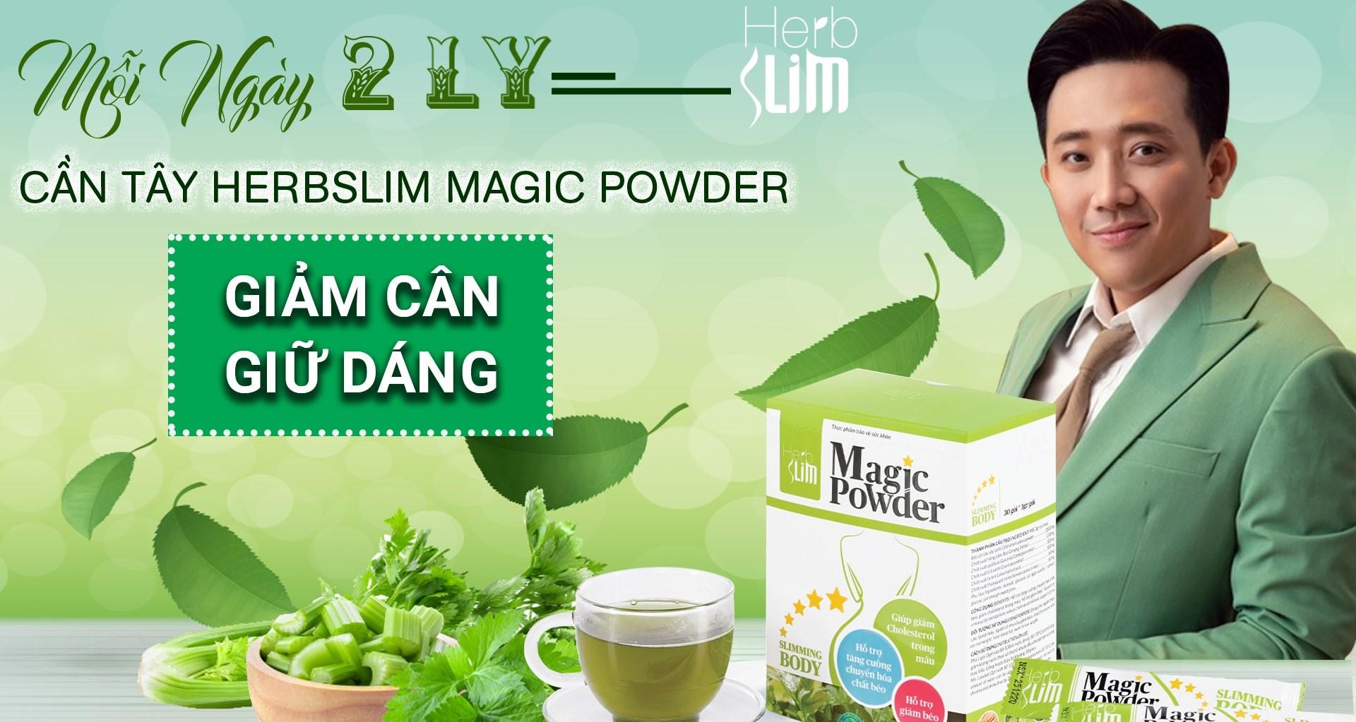 Bột cần tây herbslim magic powder