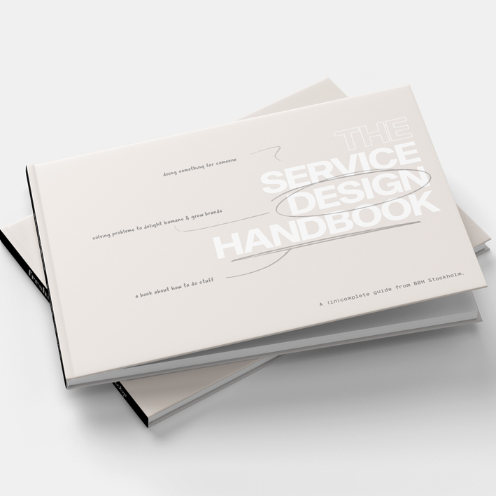 Download our Service Design Handbook for free!