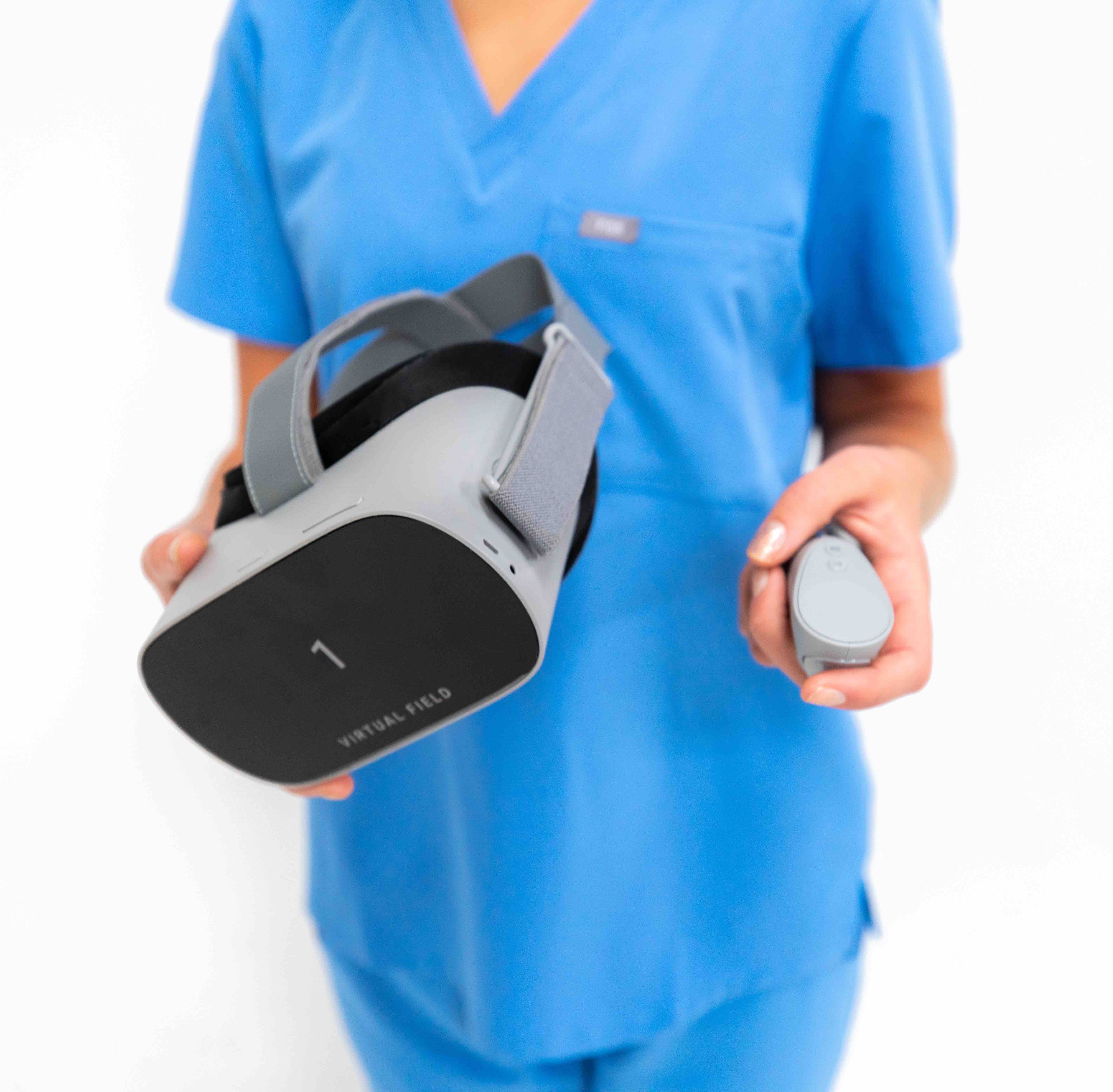 Virtual field on a patient