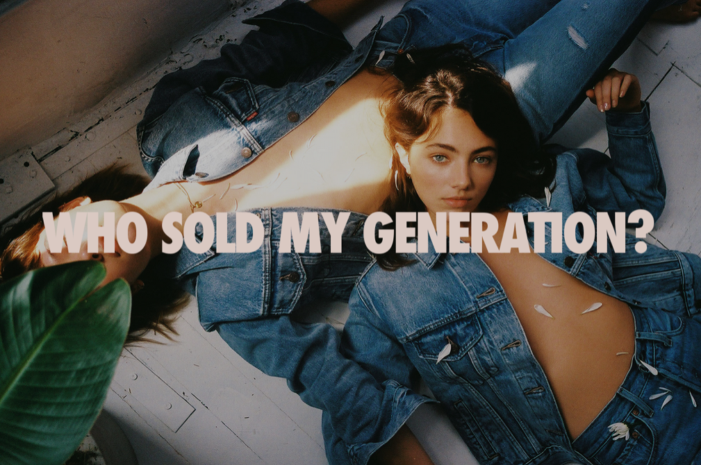 Who Sold My Generation - Levi's x Baccala Magazine
