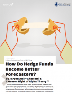 how do hedge funds become better forecasters