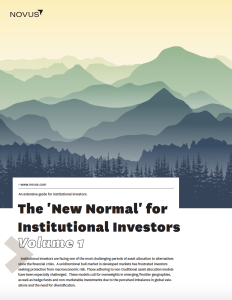 The 'New Normal' for Institutional Investors: Volume One