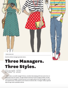 three managers three styles part III