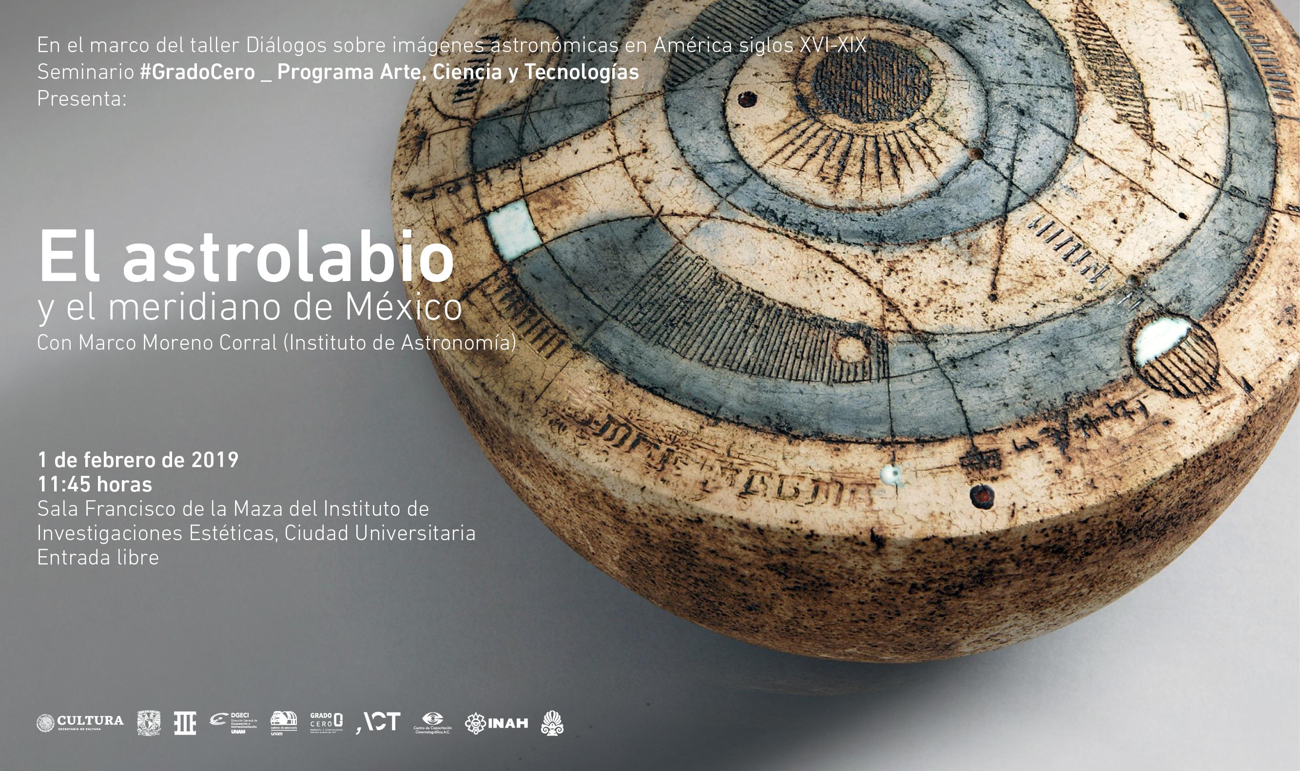 Grado Cero: El astrolabio y el meridiano de México