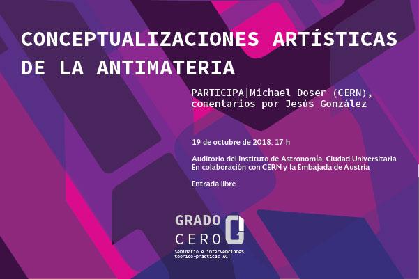 Conceptualizaciones artísticas de la antimateria