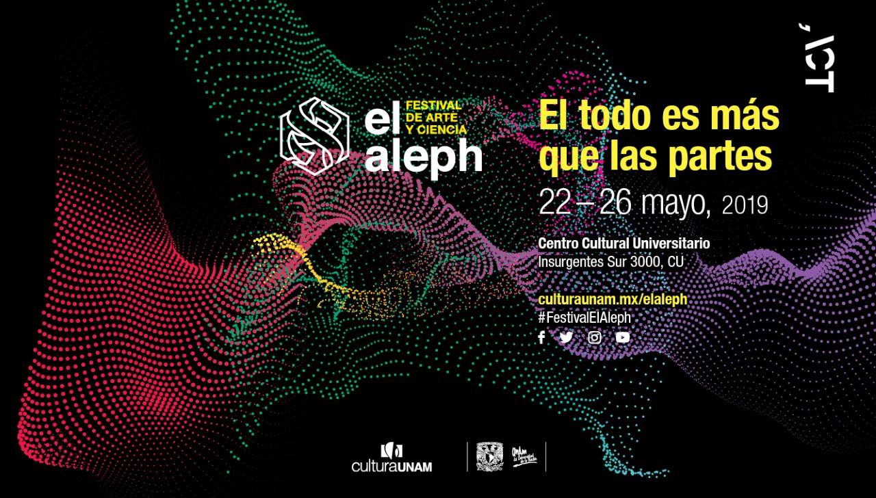 ACT presente en El Aleph Festival de Arte y Ciencia 2019