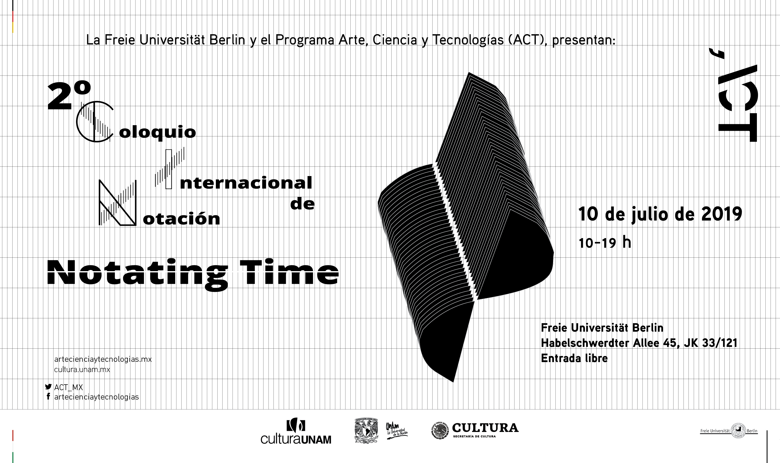 "2° Coloquio Internacional de Notación ""Notating Time"""