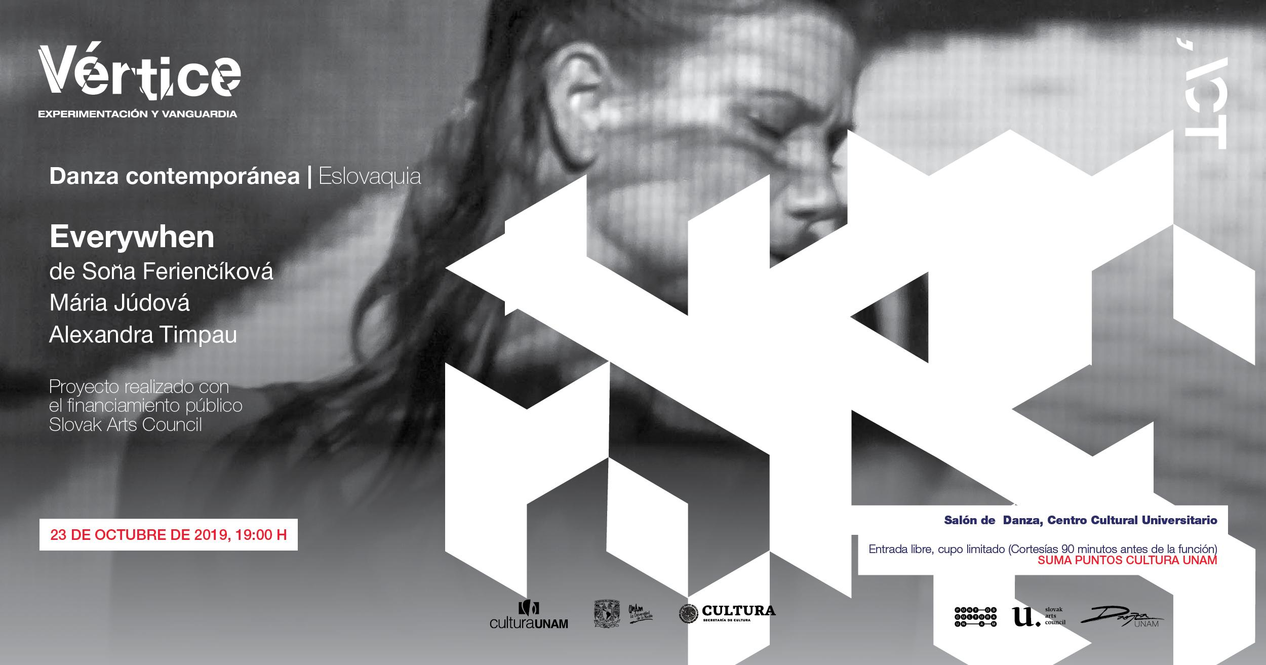 Everywhen en el festival Vértice. Experimentación y Vanguardia 2019