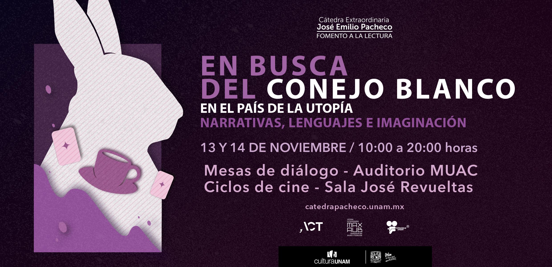 ACT en el seminario En busca del conejo blanco en el país de la utopía: narrativas, lenguajes e imaginación