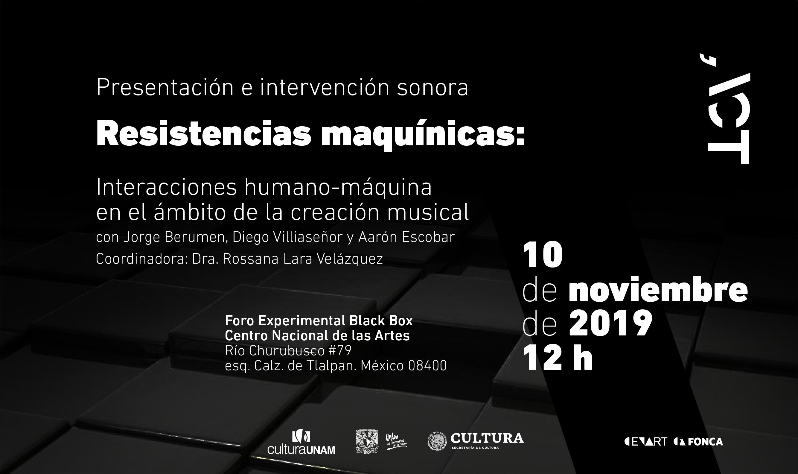Resistencias maquínicas: interacciones humano-máquina en el ámbito de la creación musical
