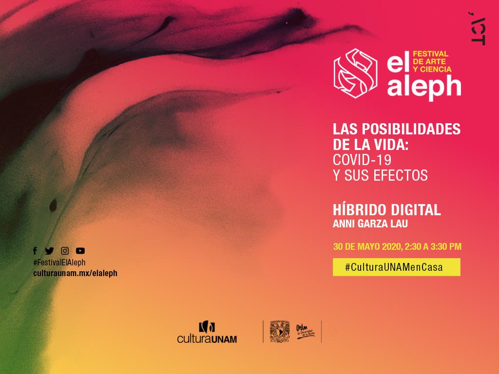 Festival El Aleph: Híbrido digital