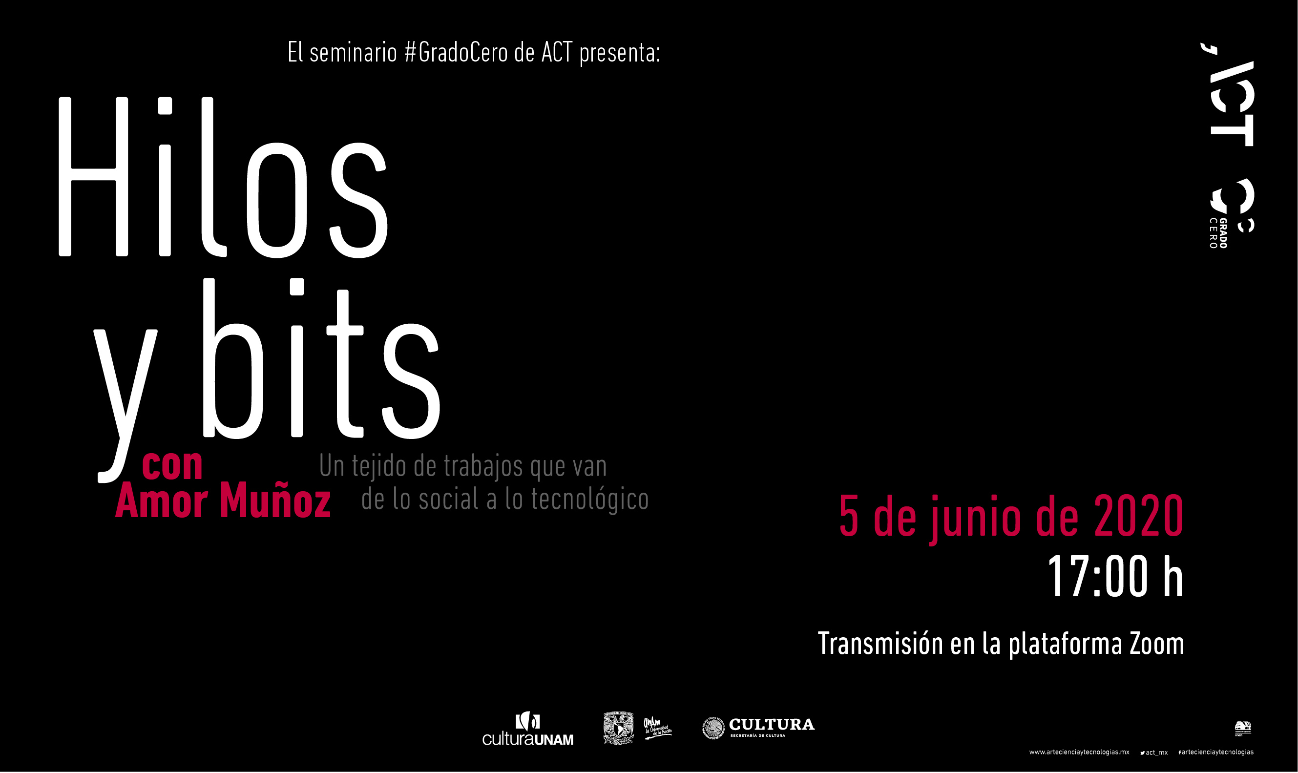 Grado Cero: Hilos y bits, un tejido de trabajos que van de lo social a lo tecnológico