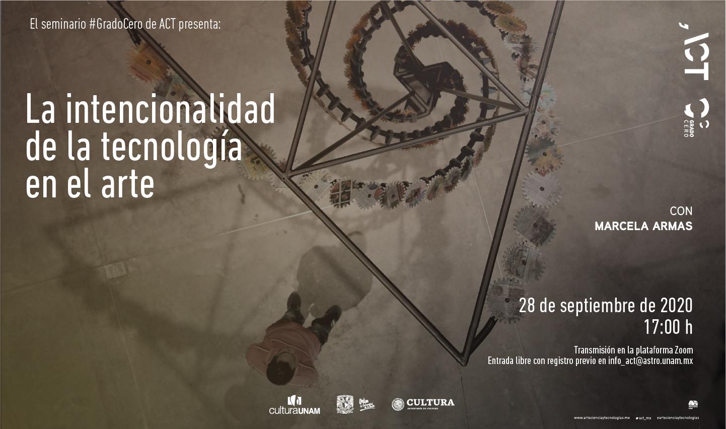 Grado Cero: La intencionalidad de la tecnología en el arte