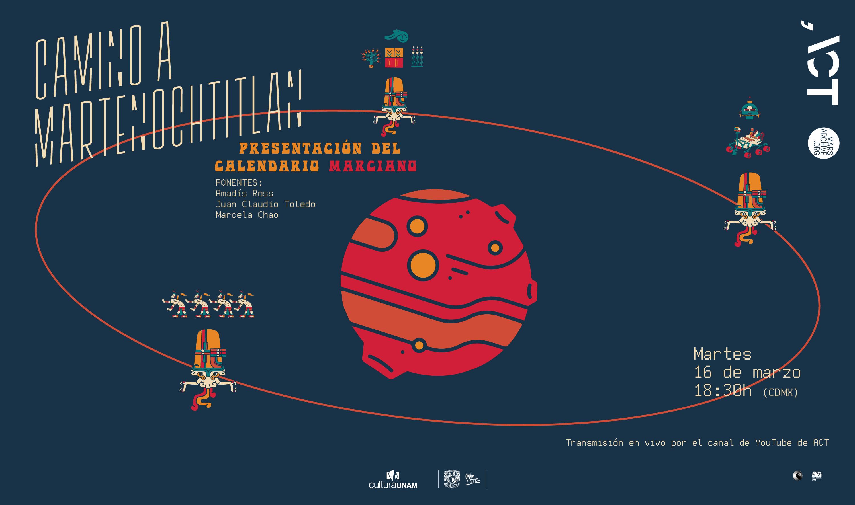 Presentación del calendario marciano