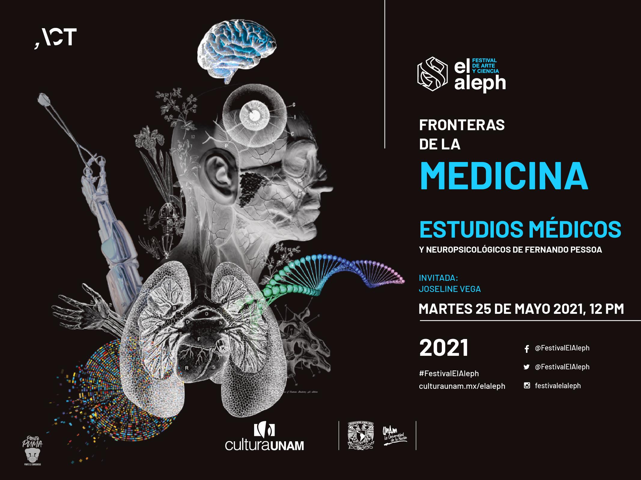 Estudios médicos y neuropsicológicos de Fernando Pessoa
