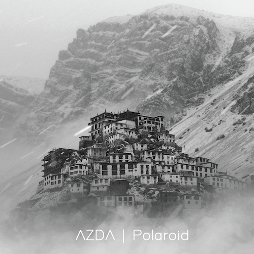 Polaroid Cover, A Isolated Village on the mountain top.
