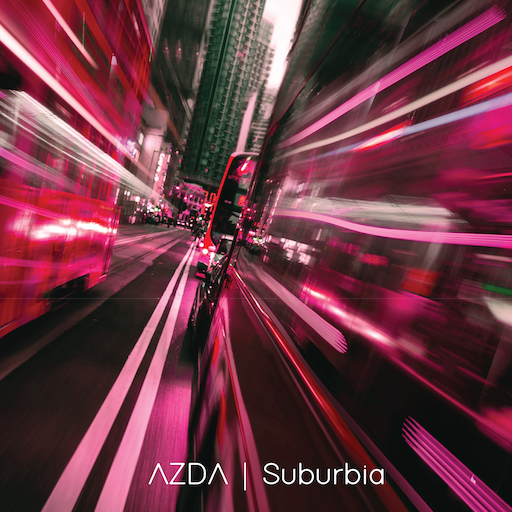 Suburbia Cover, Metropolitan Suburb with blurring lines madness.