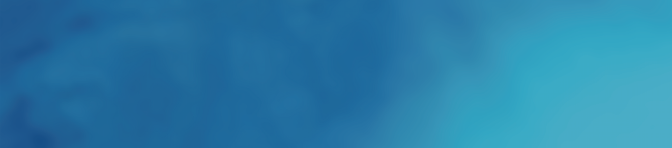 In-Between banner, blue ocean waves