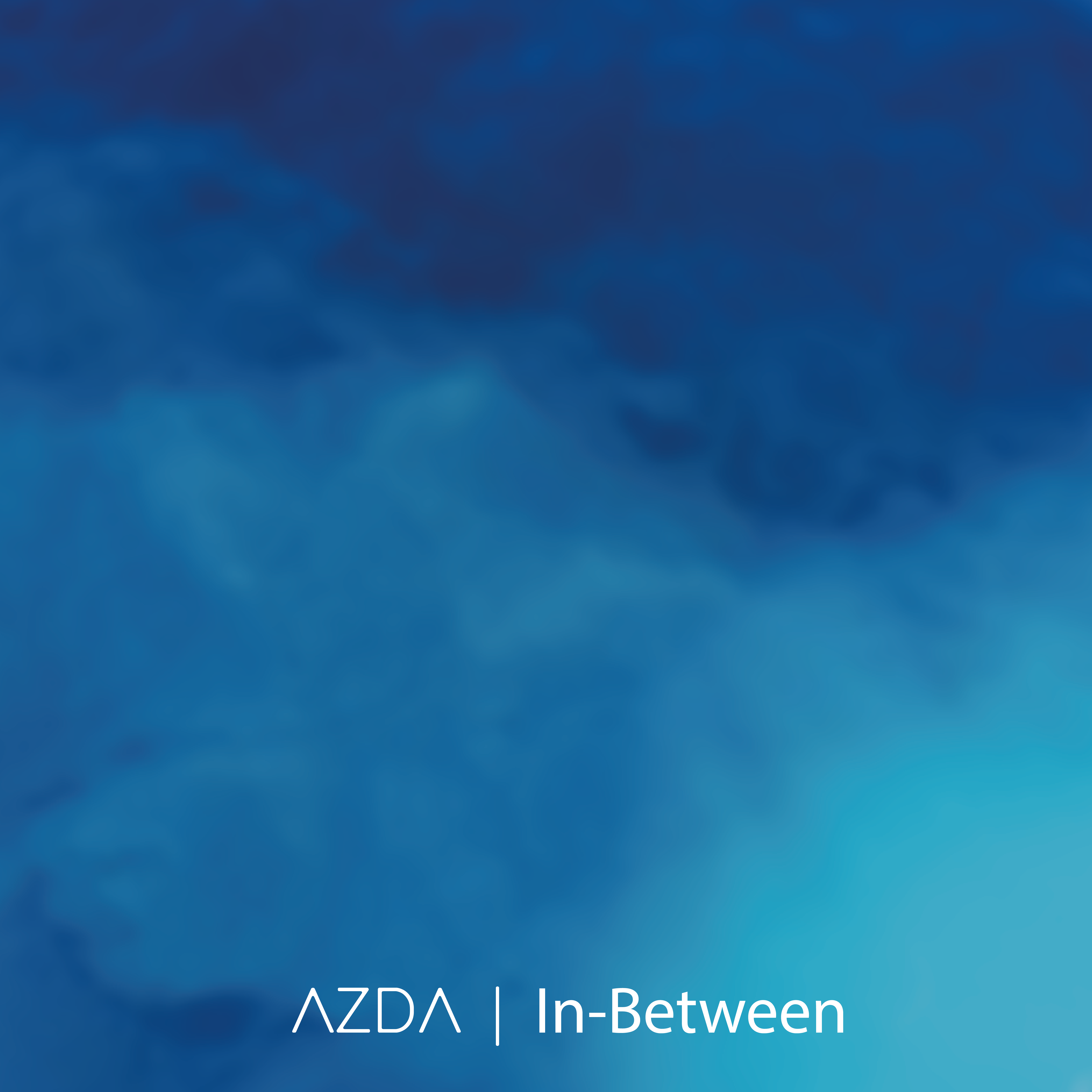 In-Between cover, blue ocean waves
