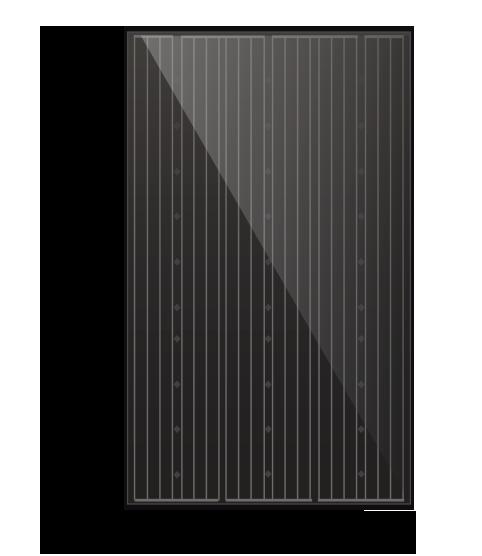 Zonnepaneel zwart