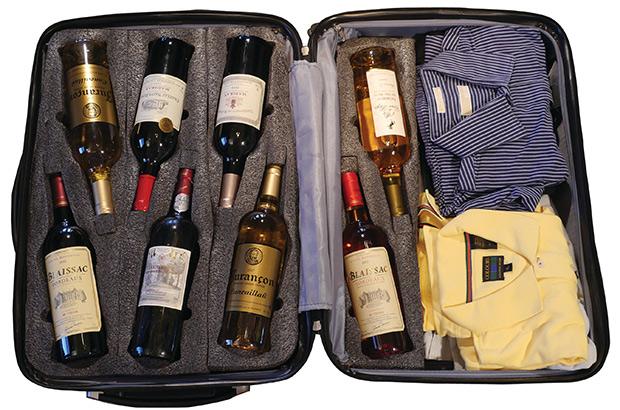 Перевозка вина в багаже