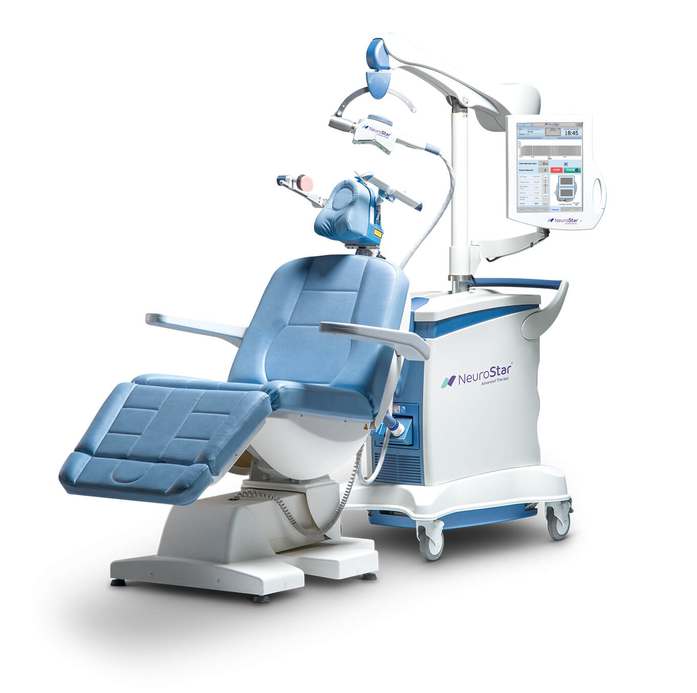 Machine used for TMS treatment