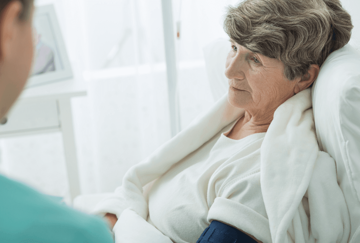 older woman doctors depression