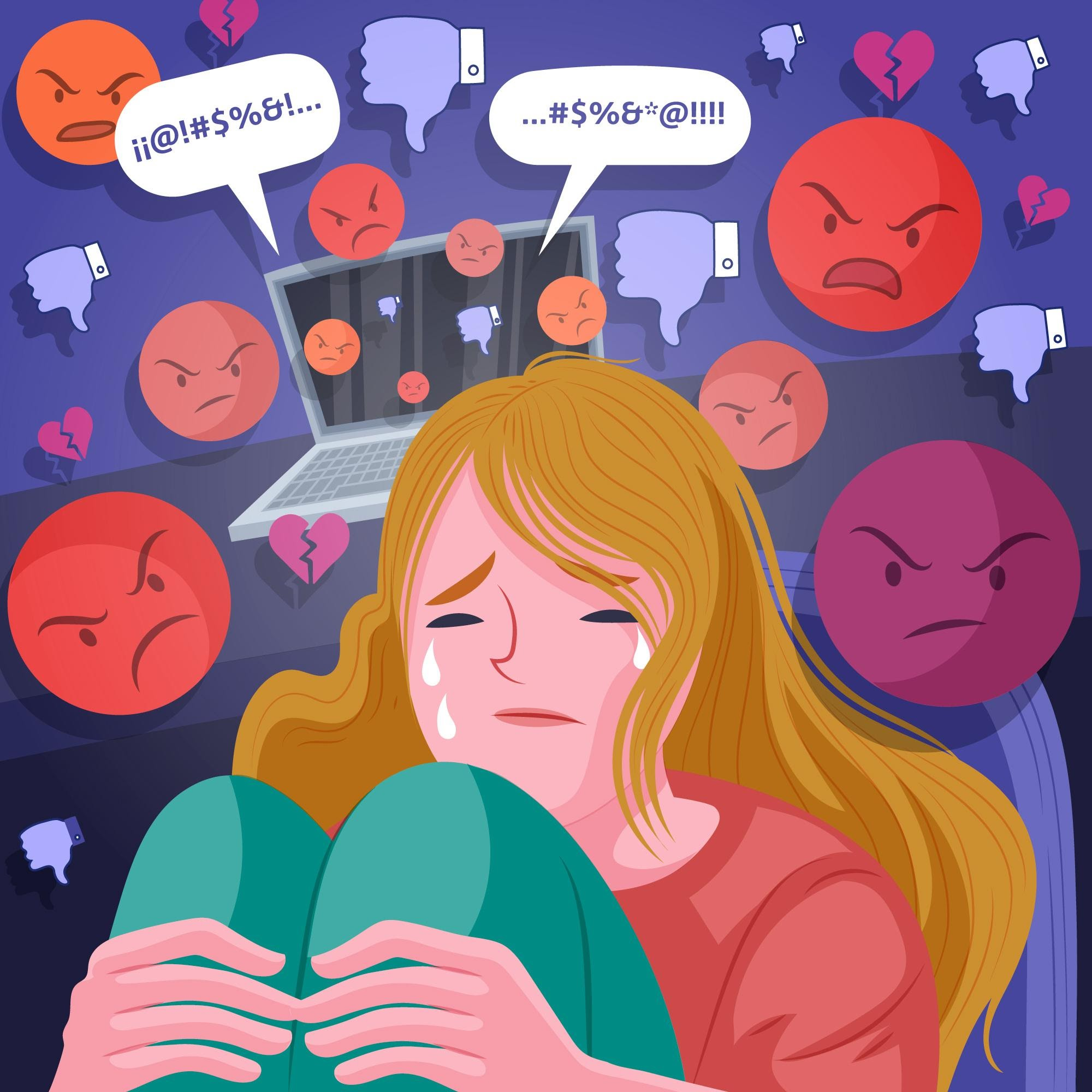 how does social media affect mental health - cyberbullying