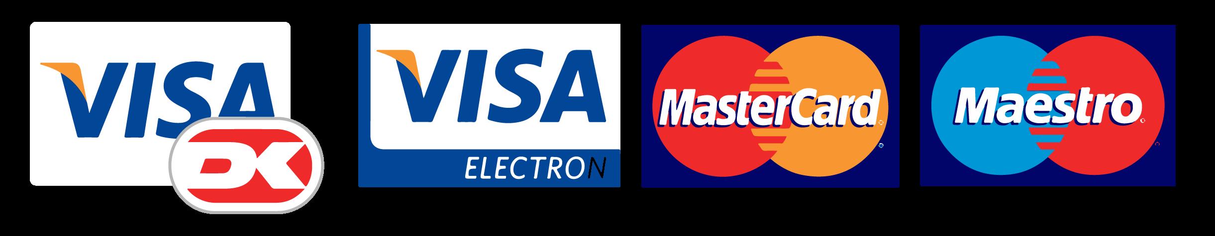 Accepting Visa and Mastercard