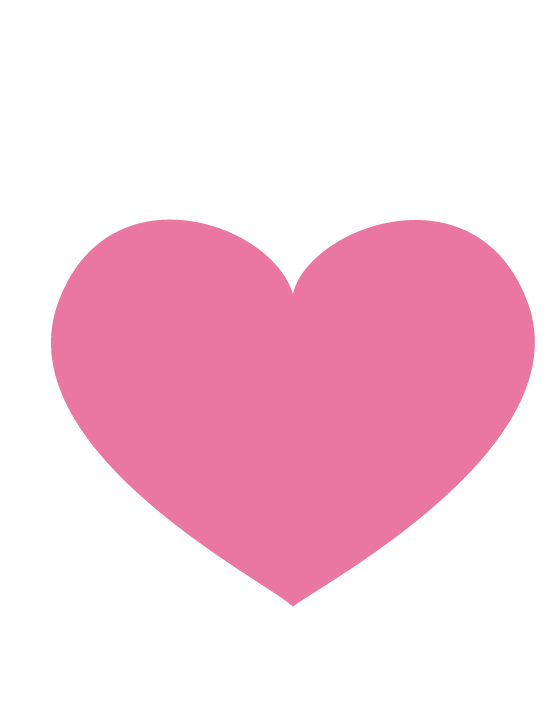 The pink .TIBA heart emoji