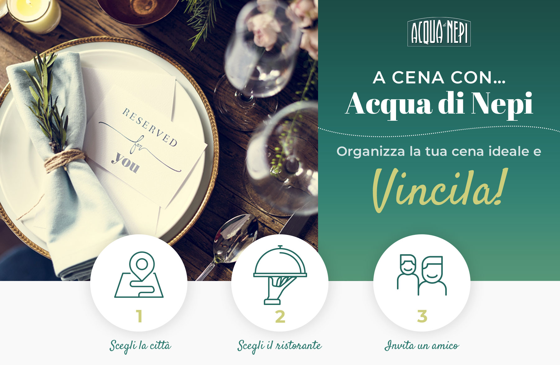Cartolina concorso Scelta Vincente