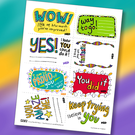Encouragement Notes 1 - color