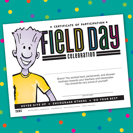 Field Day Certificates