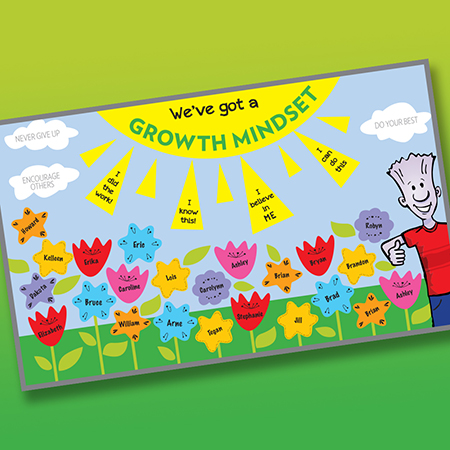 We've Got a Growth Mindset Bulletin Board Kit