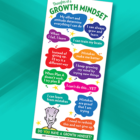 Growth Mindset Poster Color