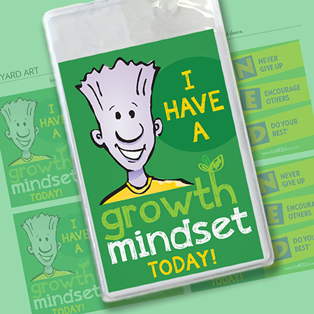 Lanyard Art: I Have A Growth Mindset