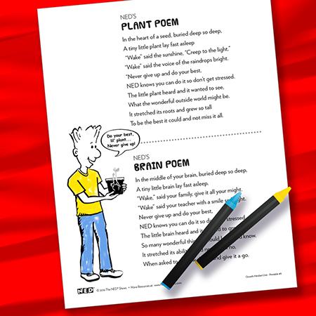 How to Grow a Brain Poem BW