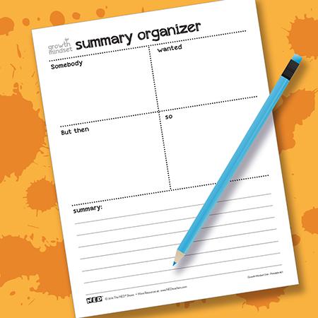 Summary Go Chart Printable