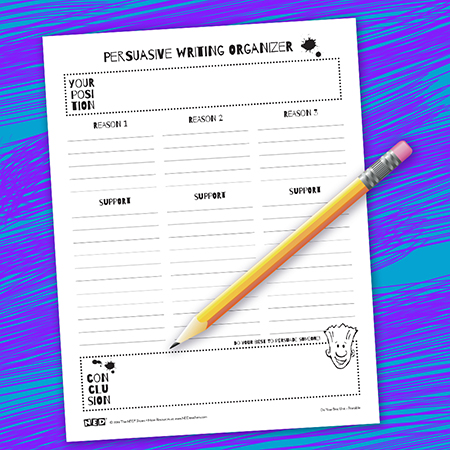 Persuasive Writing Printable