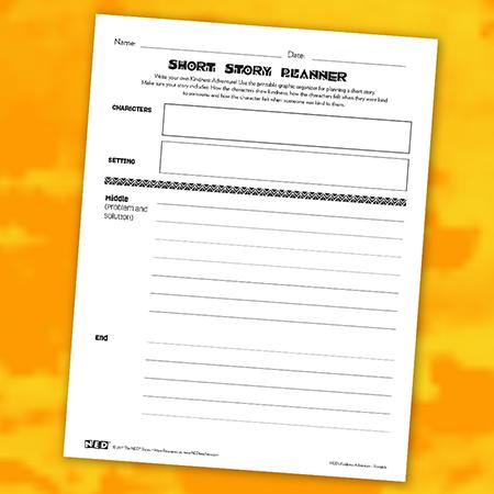 Short Story Planner Printable