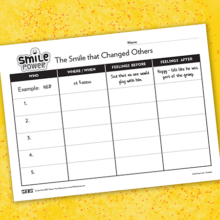 The Smile That Changed Others Printable
